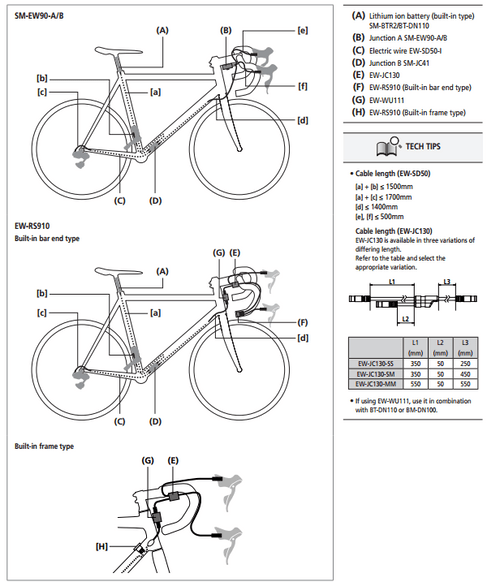 dura ace 9070 wiring diagram 1
