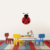 Ladybug Printed Wall Decals Wall Decor Stickers