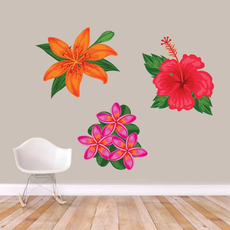 Large Of Flower Wall Decals