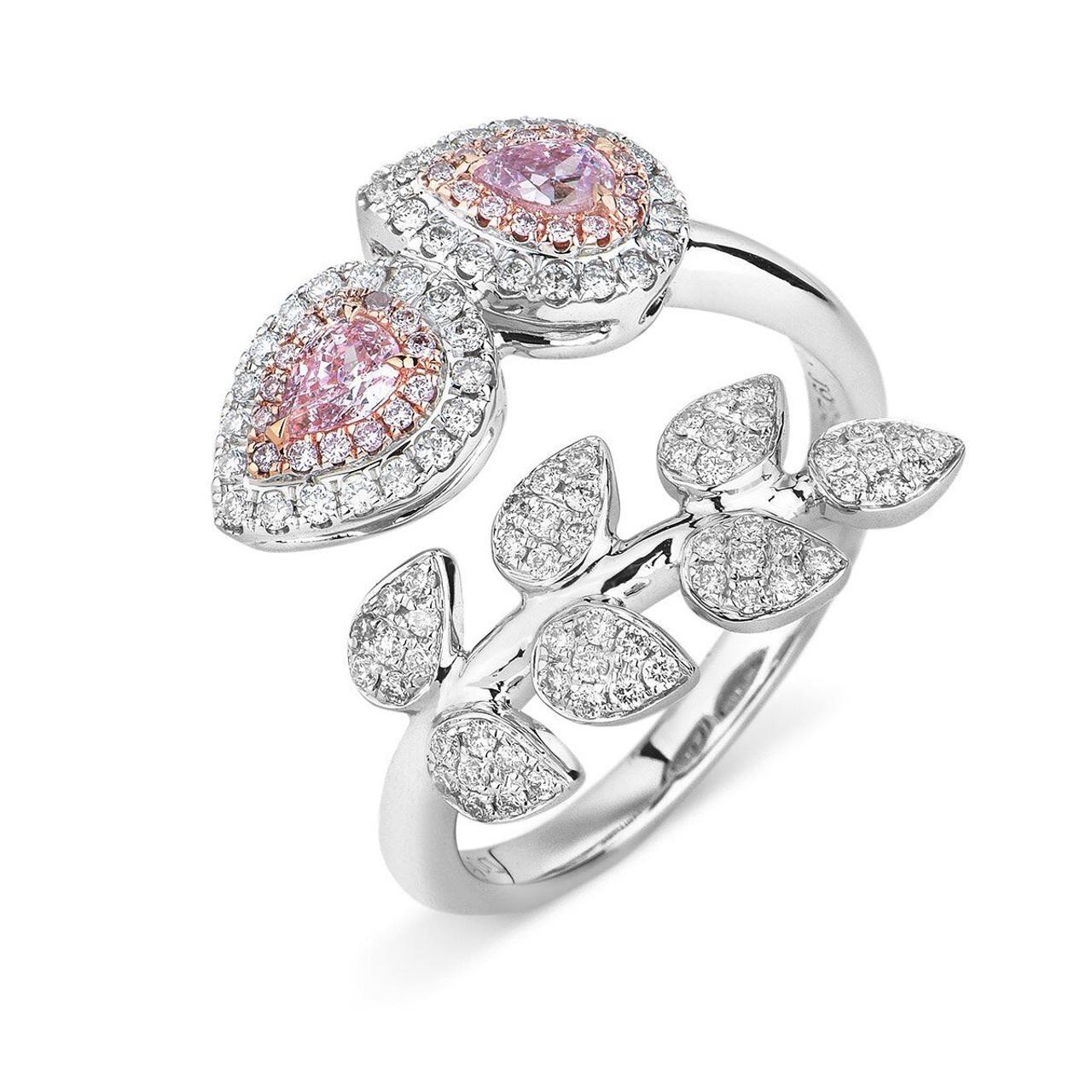 Inspiring Rose G Pear Pink Diamond Vine Ring Pink Engagement Rings Uk Pink Engagement Rings H Samuel Rose G Pear Pink Diamond Vine Ring wedding rings Pink Engagement Rings
