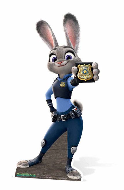 St Patricks Day Wallpaper Iphone Officer Judy Hopps Zootropolis Lifesize Cardboard Cutout