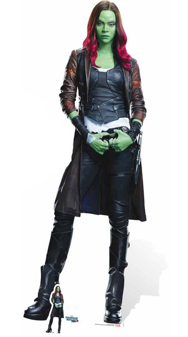 Doctor Who Animated Wallpaper Gamora Guardians Of The Galaxy Vol 2 Cardboard Cutout