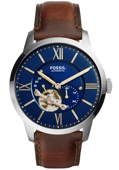 Smart Outlet Fossil Me3110 Automatic Skeleton | Watches.com