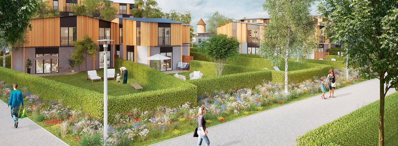 Programme Immobilier Neuf 77 Central Garden : Programme Immobilier Neuf Bussy-saint