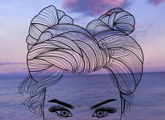Cute Emoji Wallpapers For Girls Freetoedit Sea Purple Tumblr Outlines Tumblroutlines
