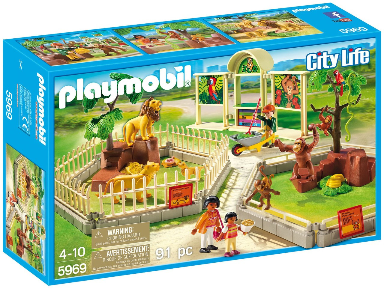Playmobil City Life Küche Müller Playmobil City Life Large Zoo Set 5969 Toywiz