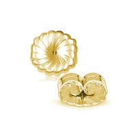 Solid 14K Gold Extra Large Earring Backs - Mystique of ...