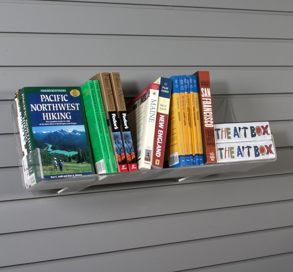 Fullsize Of Books On A Shelf Image