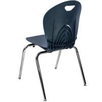 Advantage 18-in Navy Student Stack School Chair [ADV-TITAN ...