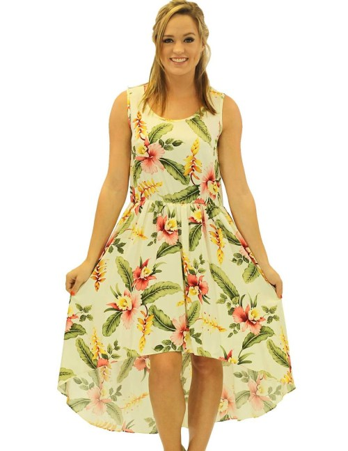 Calm Orchid Mid Length Tropical Low Dress Low Asymmetrical Orchid Pua Mid Length Tropical Low Dress Hawaiian Wedding Place Low Dresses Petite Low Dresses Kohls