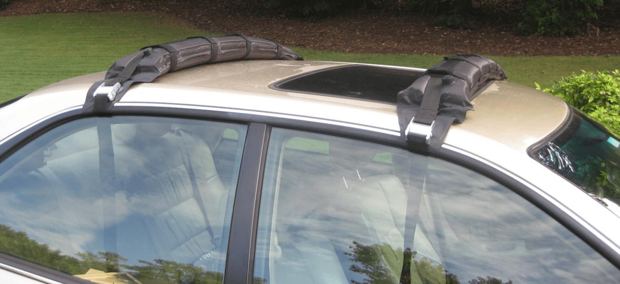 Self Inflating Kayak Roof Rack Kayak And Canoe Car Rack