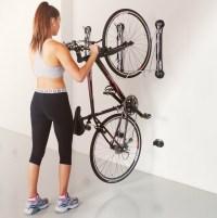 Compact Vertical Bike Rack | Wall Mount - StoreYourBoard.com