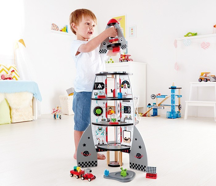 Hape Rocket Ship Toy On Sale Free Shipping Aus Wide