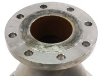 "Enlin WNRF 8.25"" to 4"" Stainless Steel Pipe Flange Adapter ..."