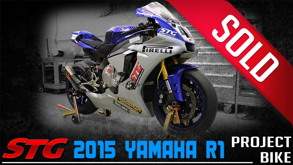 2015-2018 Yamaha R1 STG Project Bike