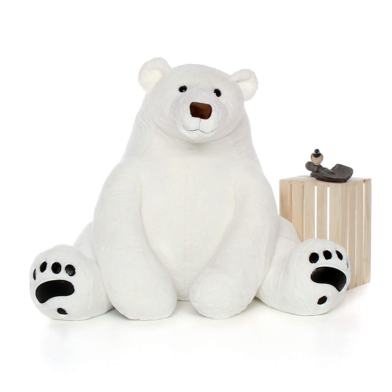 Fullsize Of Polar Bear Stuffed Animal
