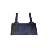 License Plate Holder - Rubber Holder with Rubber Straps