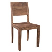 Simple Acacia Wood Dining Chair - Set of 2 - Timbergirl