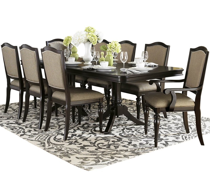 Large Of 9 Piece Dining Set