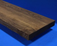 High quality wood stair parts, thick stair treads, large ...