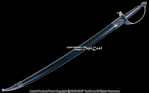 30quot Classic Caribbean Pirate Cutlass Sword Bow Guard