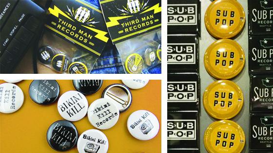 Custom Band Pins, Buttons  Merchandise Busy Beaver Button Co