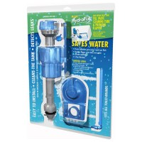 HydroFix Water Saving Toilet Fill Valve and Flapper Kit ...