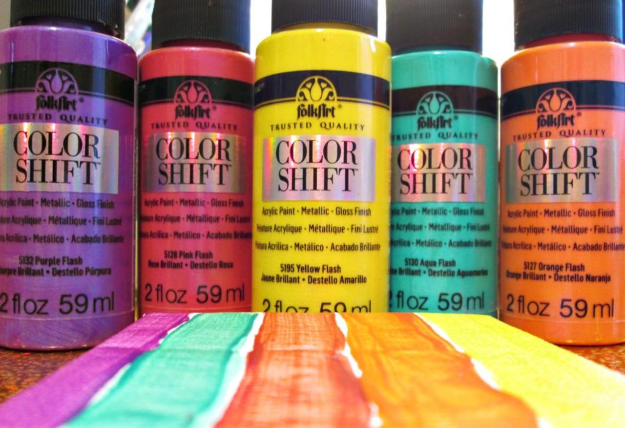 Folkart Color Shift Acrylic Paint 2oz Colorful Impressions
