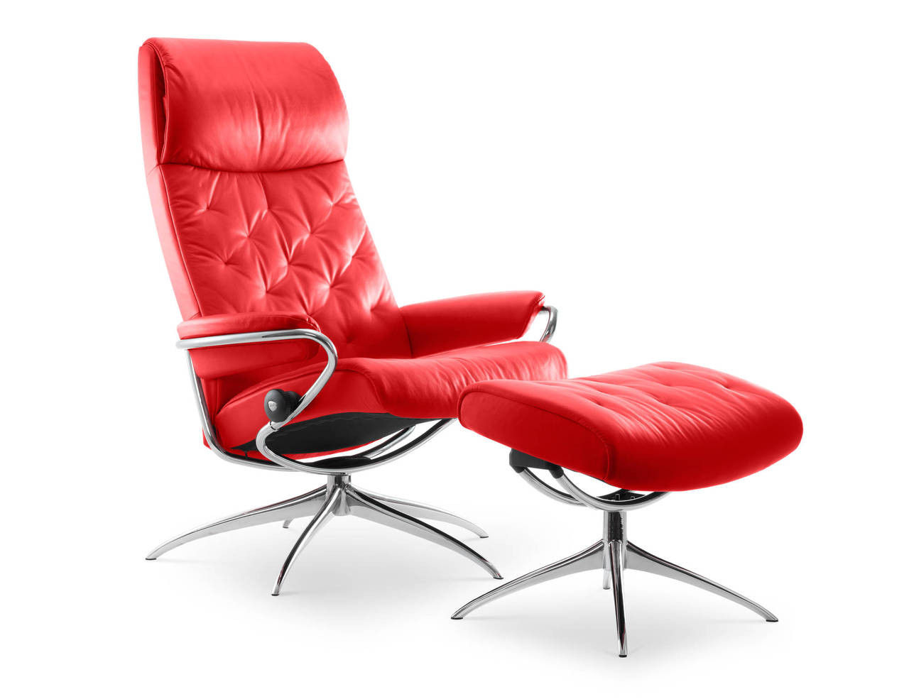 Stressless Fauteuils 2017 Ekornes Stressless Metro High Back Leather Recliner And