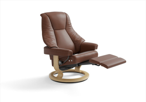 Stressless Consul Recliner Signature Base Or Legcomfort - Stressless Wing Classic Legcomfort