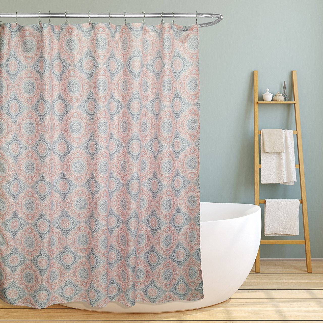 Bunnings Bath Paint Linen Store Fabric Canvas Shower Curtain 70 Quotx70 Quot Casey
