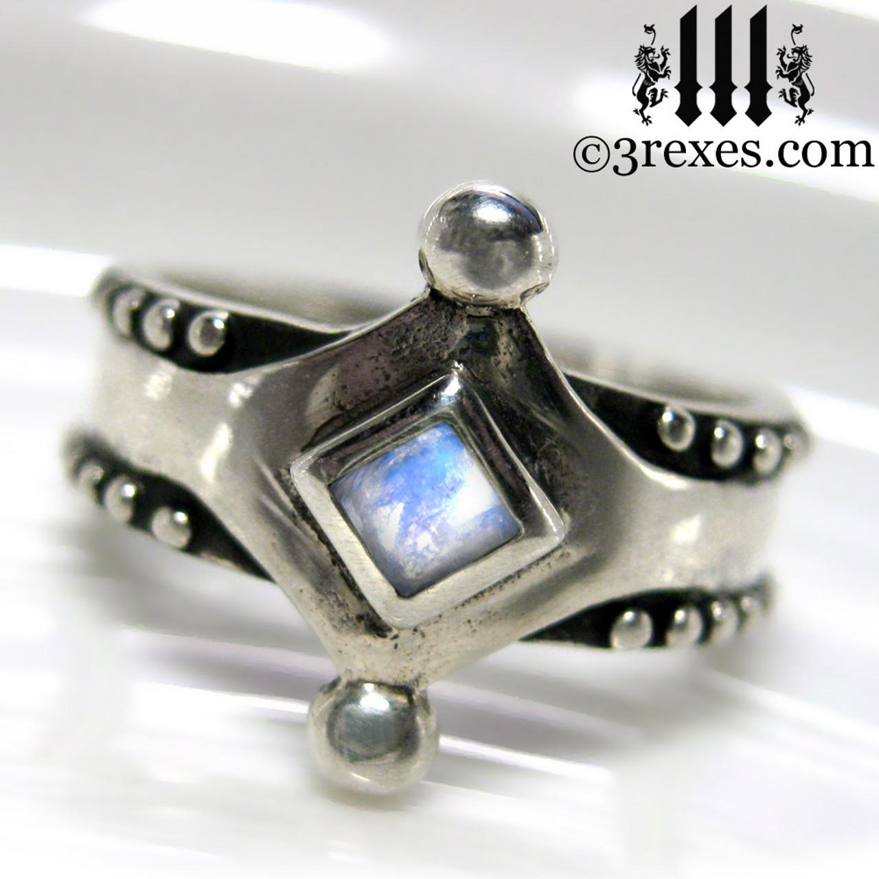 Enamour Studs 34013 Silver Wedding Rings Argos Silver Wedding Rings Mens Medieval Silver Ring Magic Moonstone Wedding Ring wedding rings Silver Wedding Rings