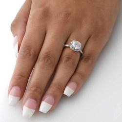 Small Crop Of 2 Carat Diamond Ring