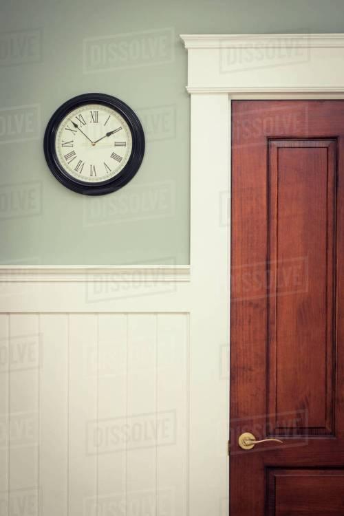 Medium Of Clock On Wall