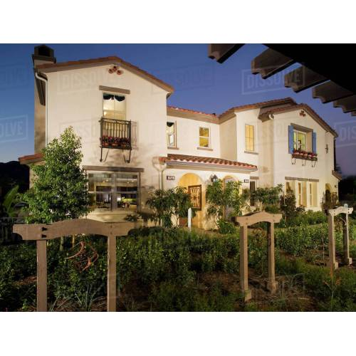 Medium Crop Of Spanish Style Home
