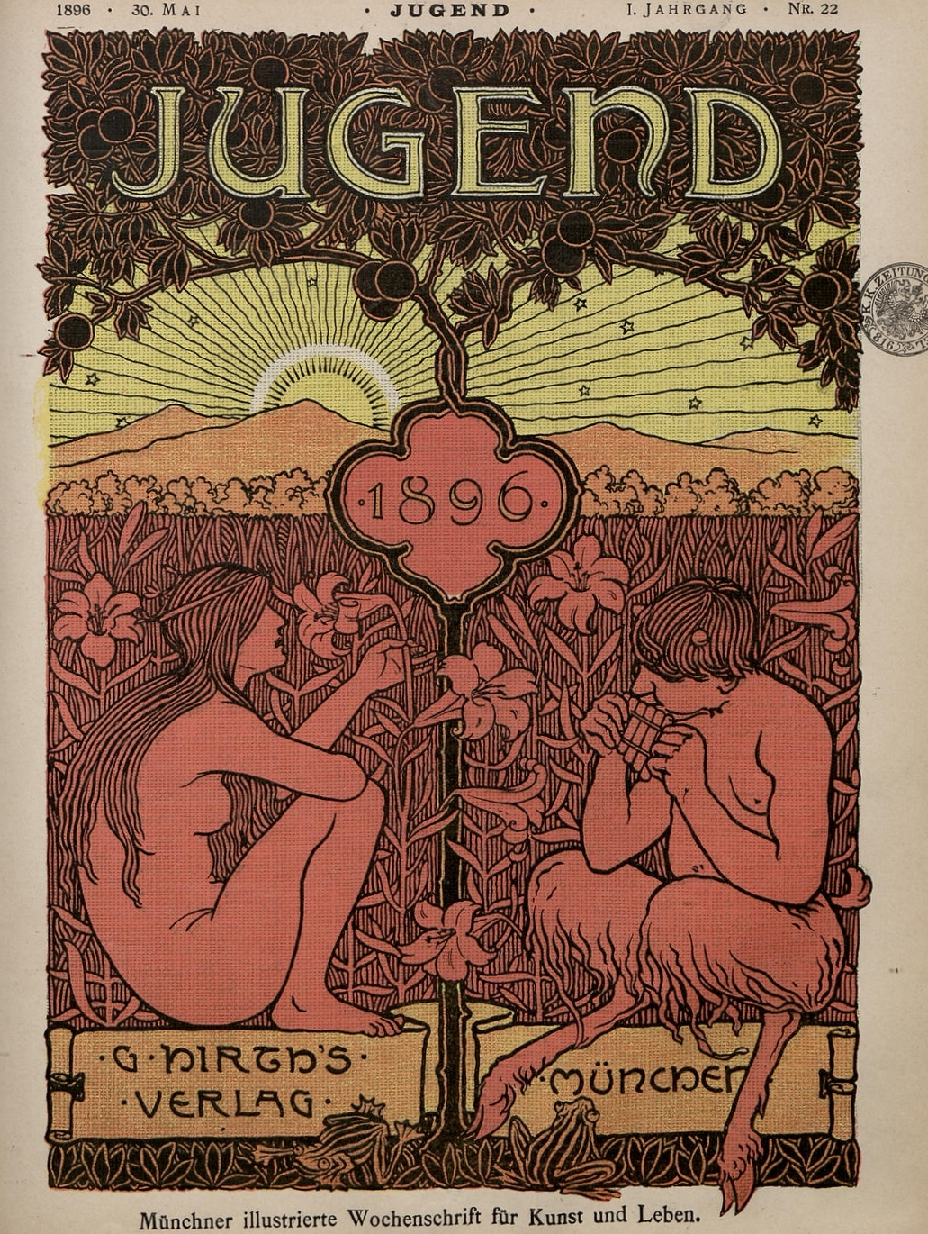 Jugendstil Kunst Download Hundreds Of Issues Of Jugend Germany S Pioneering Art