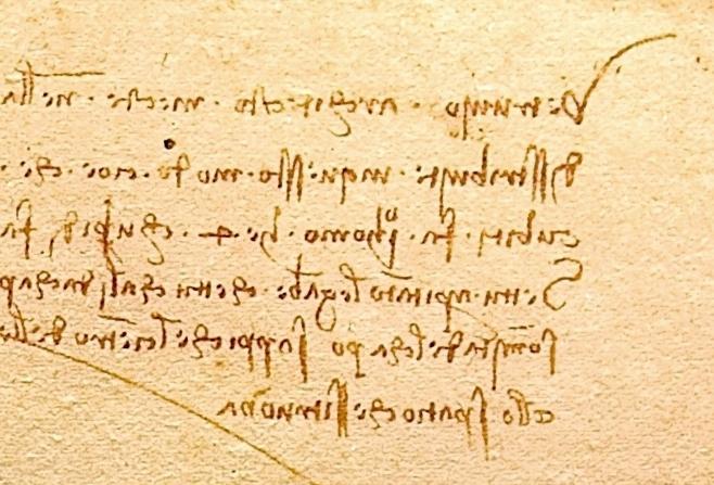Why Did Leonardo da Vinci Write Backwards? A Look Into the Ultimate
