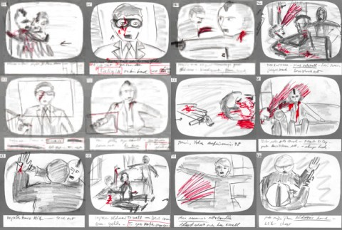 Revisit Martin Scorsese\u0027s Hand-Drawn Storyboards for Taxi Driver