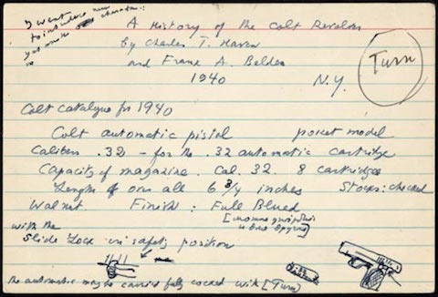 The Notecards on Which Vladimir Nabokov Wrote Lolita A Look Inside