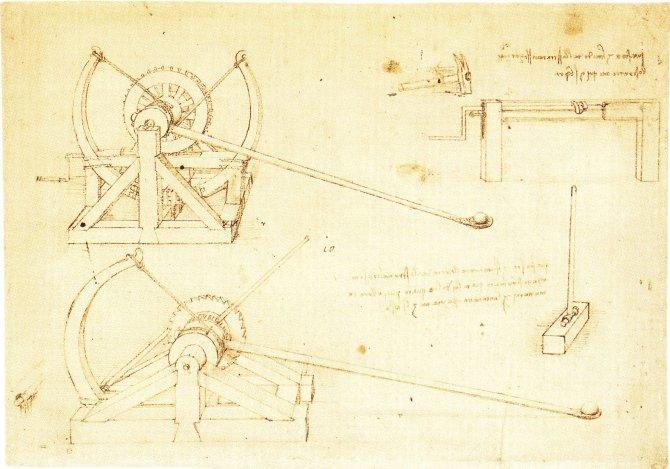 Leonardo da Vinci Draws Designs of Future War Machines Tanks