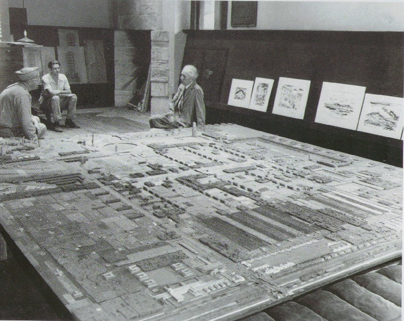 Frank Lloyd Wright Designs an Urban Utopia See His Hand-Drawn