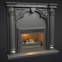 ArtStation - Vintage Fireplace - Hard-Surface Study ...