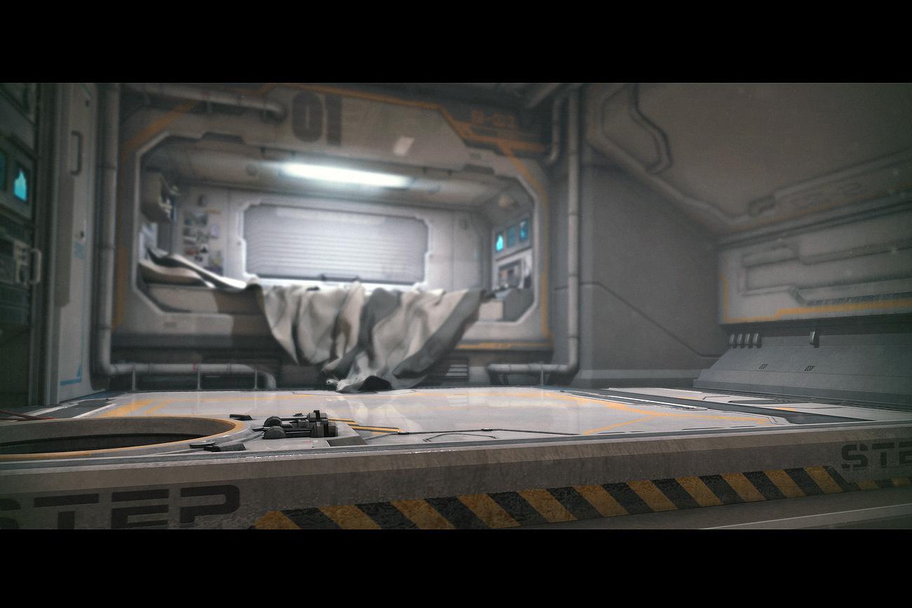 Fullsize Of Sci Fi Bedroom