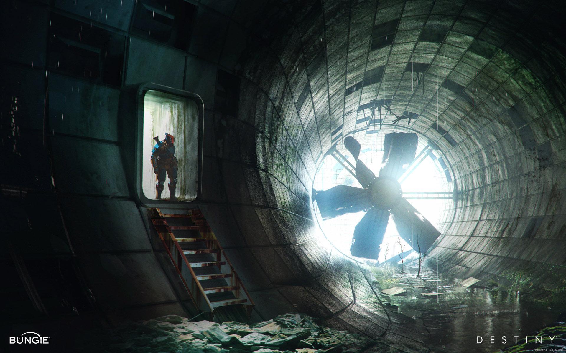 Black Lab Fall Wallpaper Artstation Destiny Inside The Cosmodrome Wall Jesse