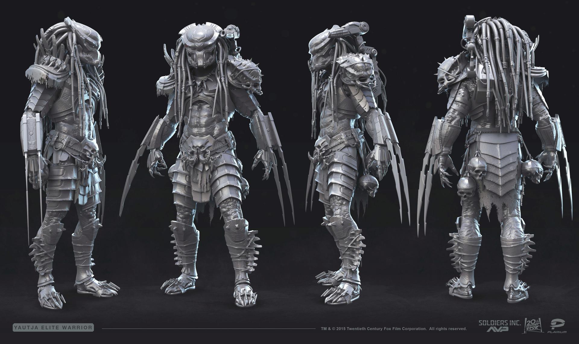 Wallpaper Monster Inc 3d Vladimir Silkin Predator Elite Warrior