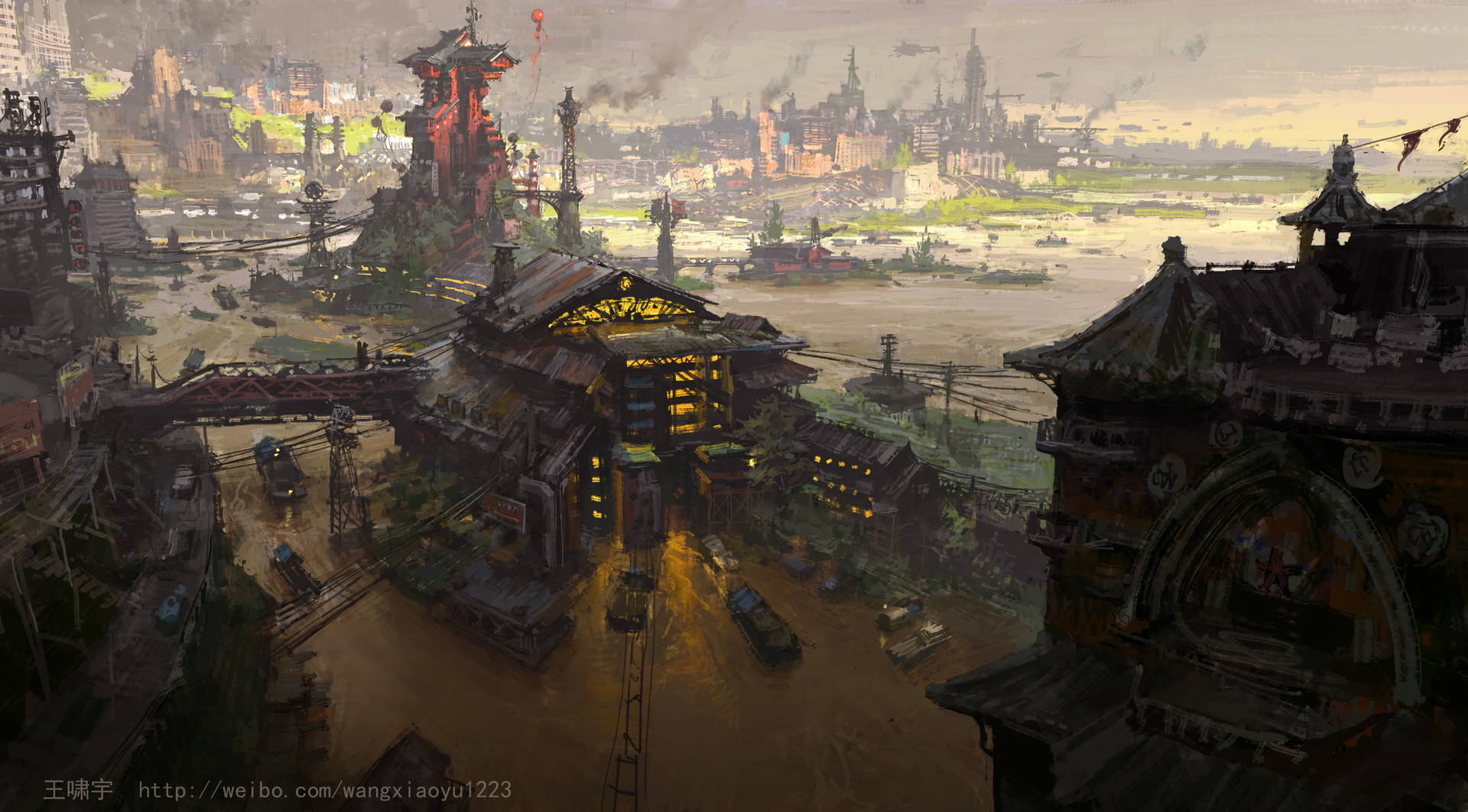Fallout 4 Wallpaper Hd Artstation Old City Xiaoyu Wang