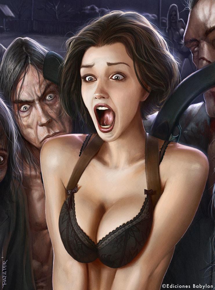 Www Anime Girl Wallpaper Com Rafael Teruel Mischievous Zombies