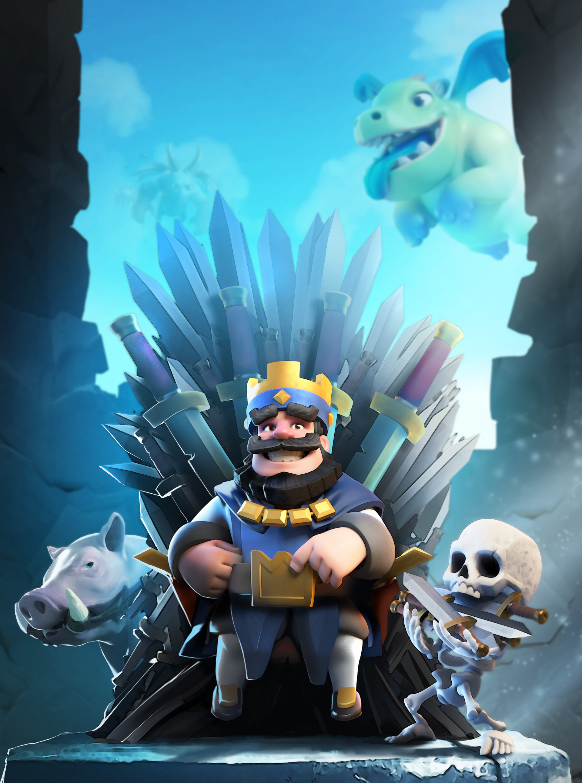 Kawaii Iphone Wallpaper Artstation Clash Royale Petar Milivojevic