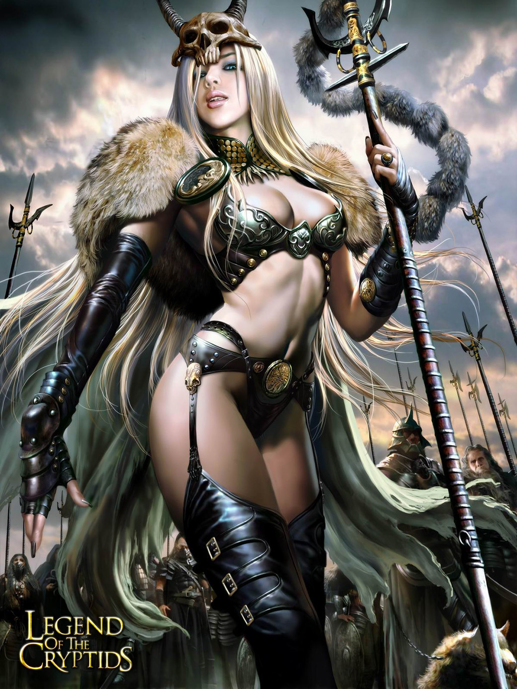 3d Devil Wallpaper Wu Shuang Legend Of The Cryptids Card Game C Versions