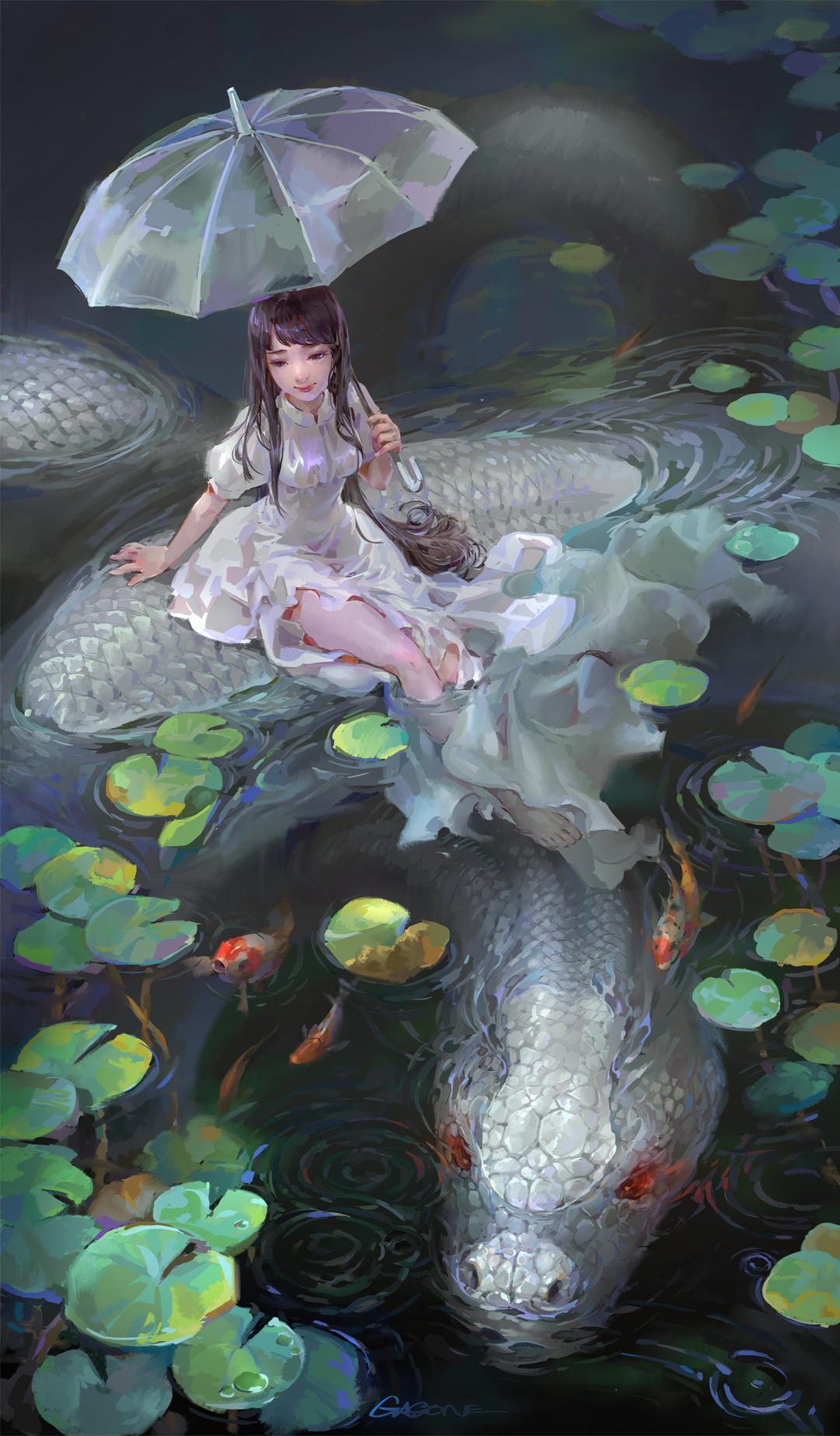 Devil Girl Anime Wallpaper Artstation The White Snake Shengyi Sun